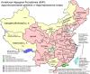 Карта Китая КНР карта